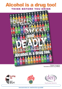 Alcohol is a Drug Too Poster 5
